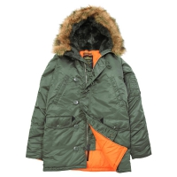 Куртка Alpha Industries N-3B Slim Fit Sage Green