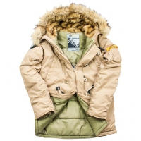 Куртка аляска Oxford 2.0 Compass Tiger's Eye Nord Denali