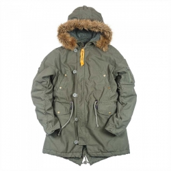 Куртка парка Nord Storm N-3B Fish Tail Parka Olive