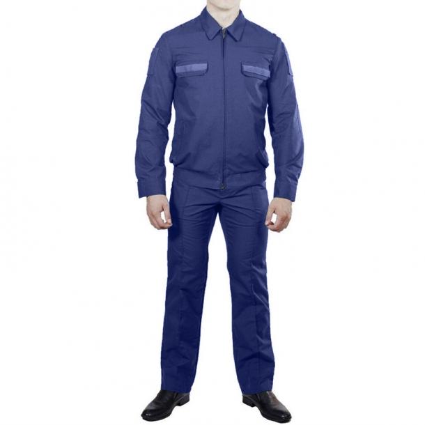 90852e857035 Офисный костюм ВВС (ВКС, ВДВ) синий рип-стоп купить в СПБ
