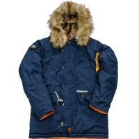 Куртка аляска Denali Oxford 2.0 Compass (цвет replica blue/orange)