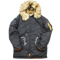 Куртка аляска Nord Denali Oxford Compass (black)