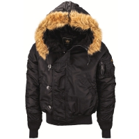 Куртка пилот Alpha Industries N-2B Flight Jacket Black