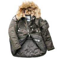Куртка аляска Denali Husky Military (olive/night)